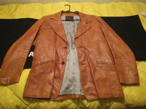 Real 1978 leather jacket for Sale in Tupelo, AR