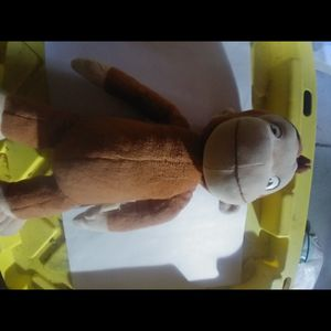 Stuffed Animal, Curious George Stuffed Animal, Monkey Stuffed Animal, Curious George Plushie for Sale in Aurora, CO
