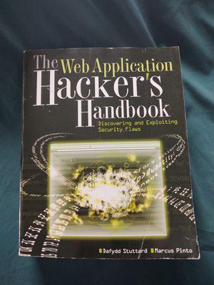 Hackers Handbook for Sale in West Somerville, MA