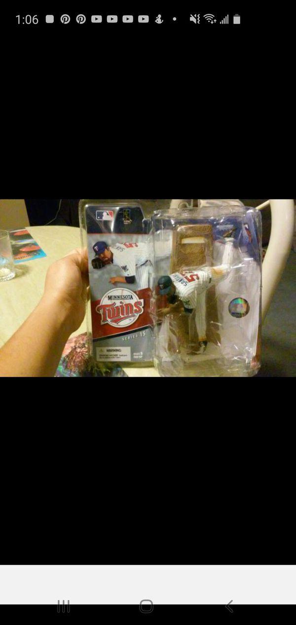 McFarlane Toys figurin JOHAN SANTANA MLB series 15 New in original box
