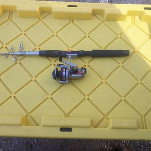 "6'6"" Telescoping Rod With Ryobi SX1m Reel for Sale in Carmichael, CA"