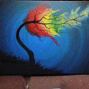Handmade Canvas painting for Sale in Stockton, CA