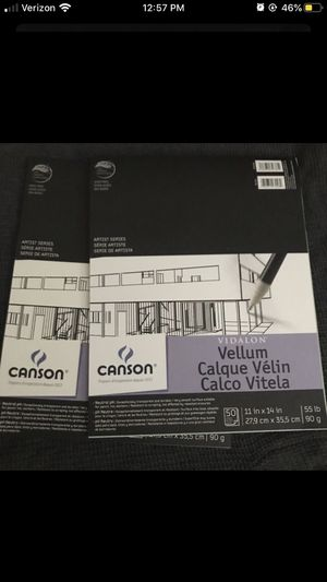 Canson Vellum paper for Sale in San Gabriel, CA
