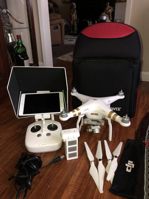 DJI phantom 3 4k Drone for Sale in Sacramento, CA