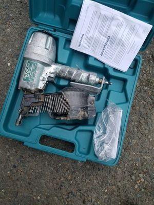 Hitachi siding nail gun for Sale in Federal Way, WA