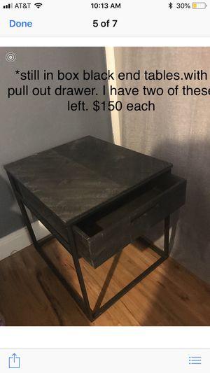 End tables. 2 left for Sale in North Salt Lake, UT