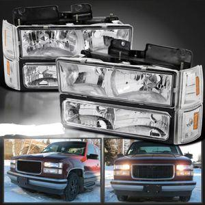 Obs GMC Sierra 94-98 new headlights for Sale in Fresno, CA
