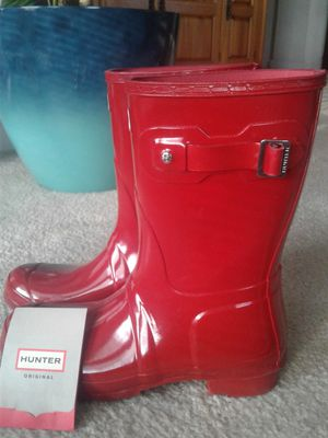 Hunter Red Rain boots size 9 for Sale in Norfolk, VA