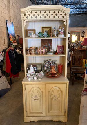 Bookshelves- Storage Cabinet- Low Dresser 4 Pieces For $40 - #MustGo #VintageMiami #BryceLeVanCushingLiquidator for Sale in Miami, FL