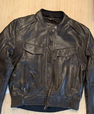 Viking Cycle Leather Motorcycle Jacket for Sale in Miami, FL