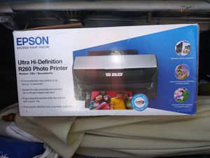 Epson R260 hi-def photo printer for Sale in Springfield, OR