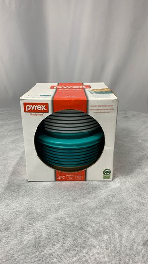 Pyrex simply store 4 piece storage set for Sale in Tucker, GA