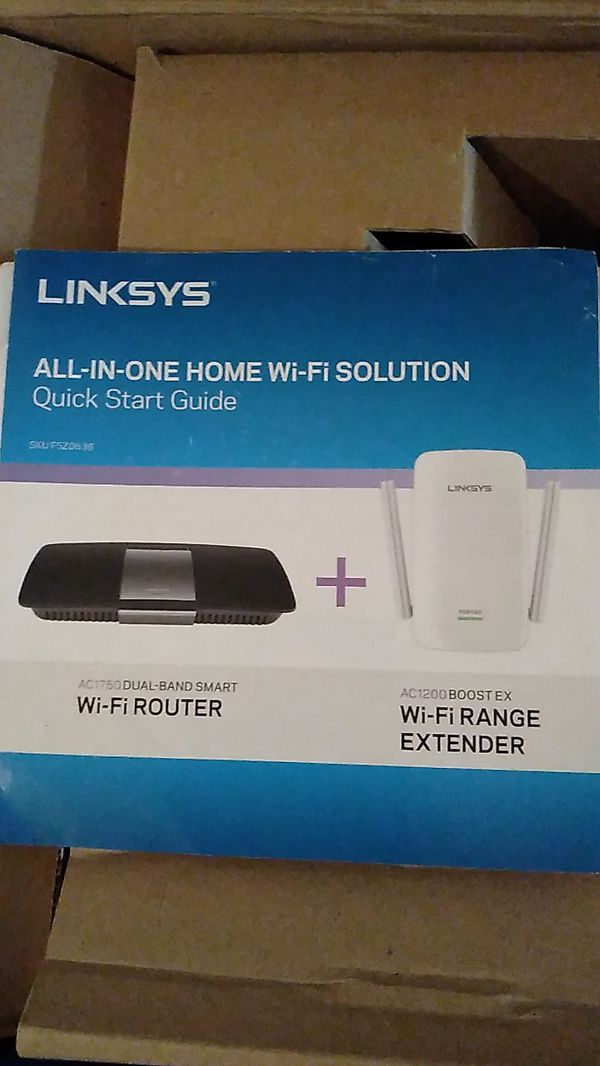 WiFi Router and Range Extender