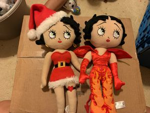 betty boop stuffed animal dolls for Sale in Davidsonville, MD