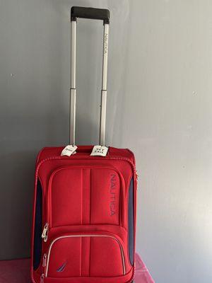 "Red luggage náutica maleta 20"" for Sale in Los Angeles, CA"