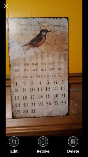 King Beautiful Decor Magnetic Calendar for Sale in Lynchburg, VA