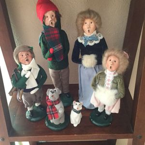 Byers Choice LTD 6 Piece Vintage The Christmas Carolers for Sale in Port St. Lucie, FL