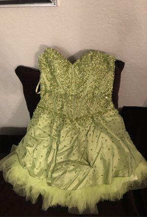Cute strapless green dress for Sale in Whittier, CA