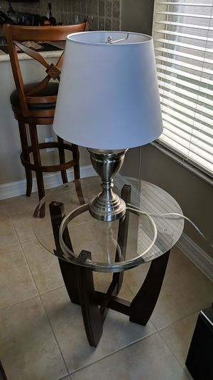 Glass coffee table and 2 end-tables for Sale in Boynton Beach, FL
