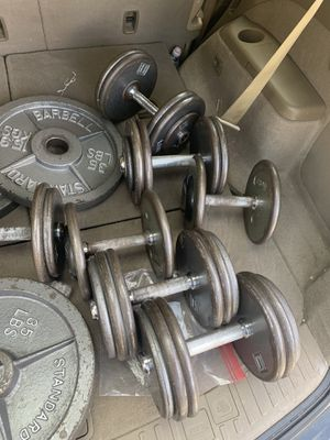 Pro style dumbbells for Sale in Chesterfield, MO