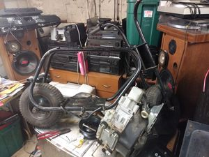 Mini Bike Frame and 6.5hp Briggs for Sale in Canal Winchester, OH