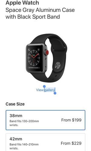 Apple Watch 3 series for Sale in Washington, DC
