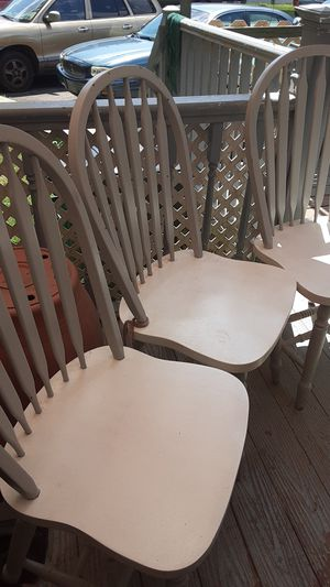 Wooden chairs for Sale in Middletown, PA