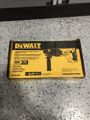 DEWALT 20-Volt MAX XR Lithium-Ion 1 in. Cordless SDS-Plus Brushless D-Handle Concrete & Masonry Rotary Hammer (Tool-Only) for Sale in Lemont, IL