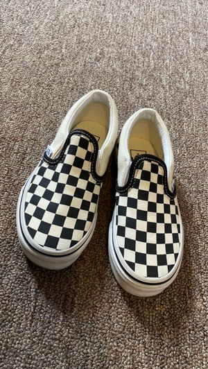 Vans size 12 kids for Sale in East Providence, RI