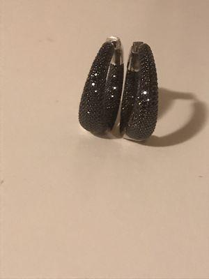 .60ct Black Diamond Earrings for Sale in Turlock, CA