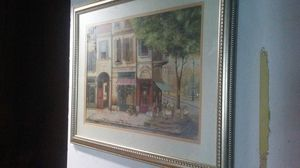 Huge French Street Scene for Sale in Montclair, CA