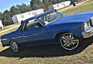 79 El camino for Sale in Wrightsville, GA