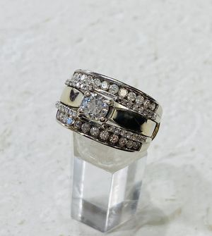 Ring White Gold 14KT with Diamonds for Sale in Miami, FL