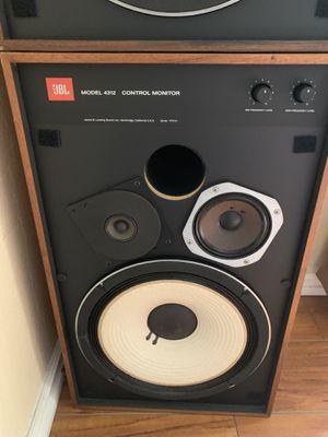 JBL 4312 studio monitors for Sale in Westminster, CA