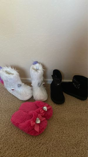 Kids slippers and boots for Sale in Surprise, AZ