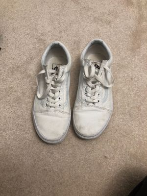 White Vans for Sale in Gig Harbor, WA