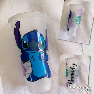 Stitch, Lilo and Stitch, Disney, custom made, Starbucks cup for Sale in Fontana, CA