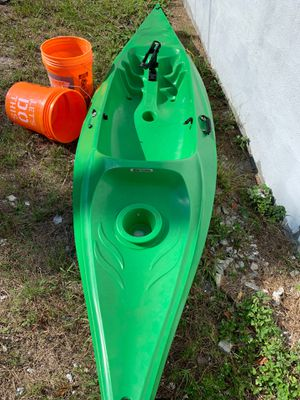 Complete salt water Kayak and lures tackle setup rods moving for Sale in Tampa, FL