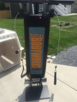Total gym machine best offer for Sale in Martinsburg, WV