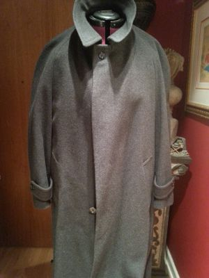 Burberry London mens wool trench coat for Sale in Chicago, IL