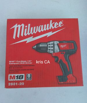 Milwaukee compact drill driver for Sale in West Puente Valley, CA
