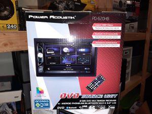 NEW!!! Power Acoustik Double Din DVD Stereo for Sale in Phoenix, AZ