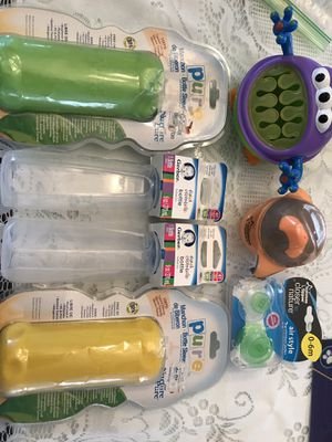 Baby bottles Bottle holders , pacifiers for Sale, used for sale  PT PLEAS BCH, NJ