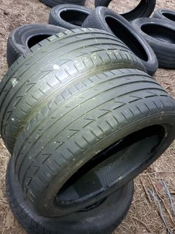 225 / 45 / 19 Pair Of Bridgestone for Sale in Bellevue,  WA