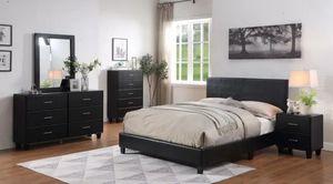 Black 4 Piece Bedroom Set for Sale in Atlanta, GA