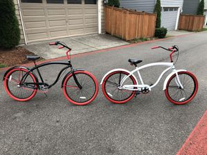 Great shape Villy custom beach cruisers at can't beat price! for Sale in Gig Harbor, WA