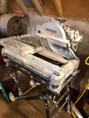 RIGID Wet Saw! for Sale in Marion, MI