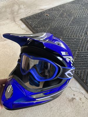 Two Youth Dirt Bike Helmets for Sale in Beverly, MA