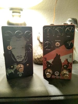 Walrus Julia, Monument and Electro harmonix dual expression needs a home for Sale in Helotes, TX