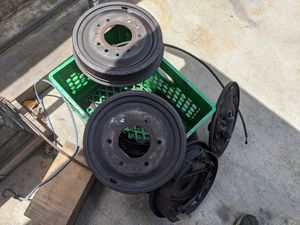 1968 C10 rear drum and backing plate assembly for Sale in Alhambra, CA
